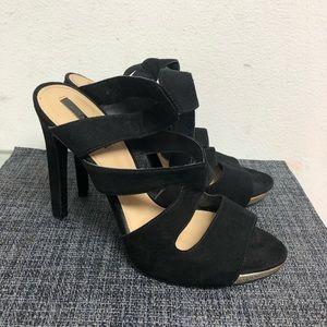 Zara Shoes - Zara heels black like new